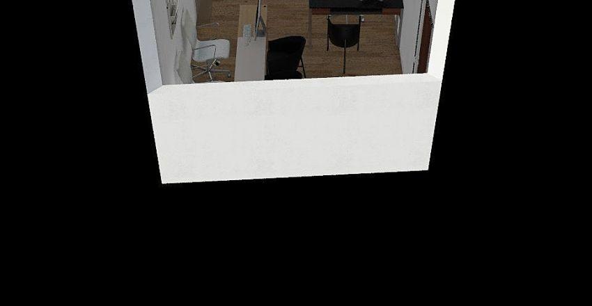 Fofinho's Office Interior Design Render