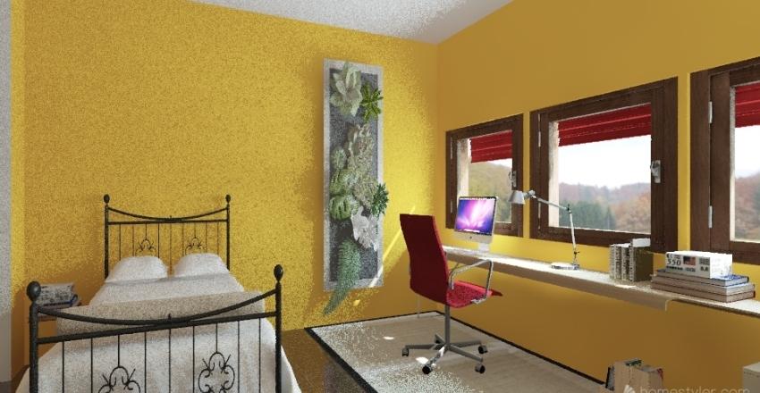 Mansarda_01 Interior Design Render