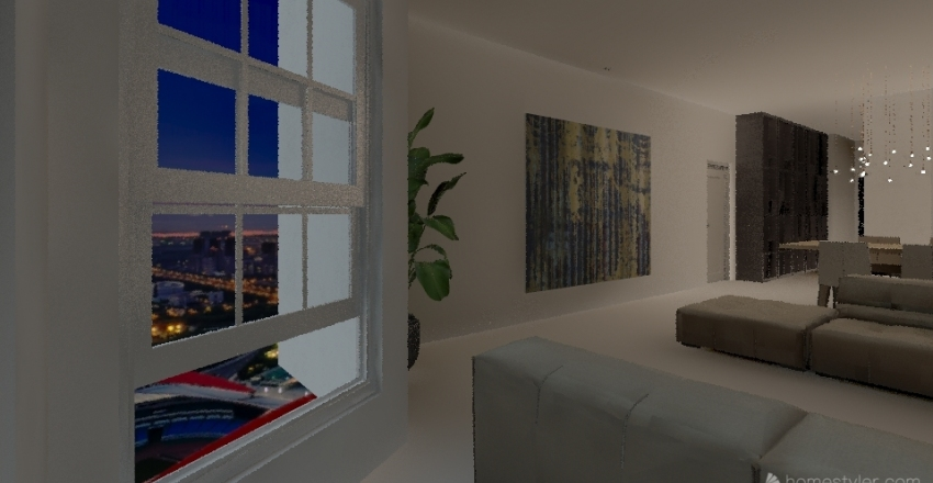Nilou Interior Design Render