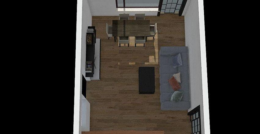 gazarului sufragerie Interior Design Render