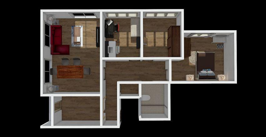 Yeni Ev Interior Design Render