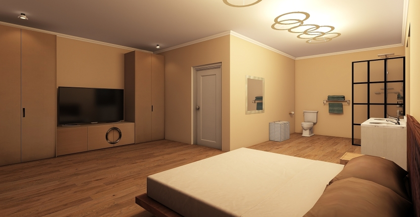double story Interior Design Render