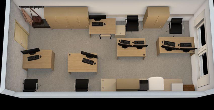 Tretyakov 1 Interior Design Render