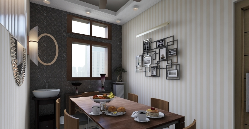 VILLA LIVING HALL 1 Interior Design Render