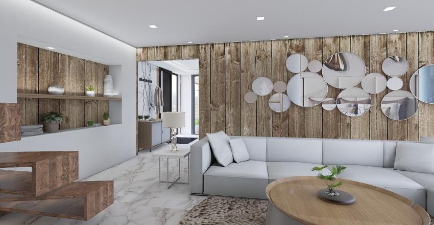Luxury Small Villa - Doma Design III. Interior Design Render