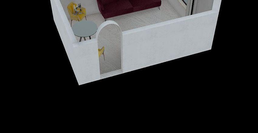 Living room Agata Interior Design Render