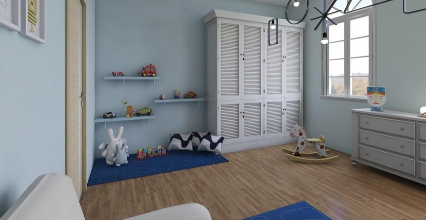 beautiful Interior Design Render