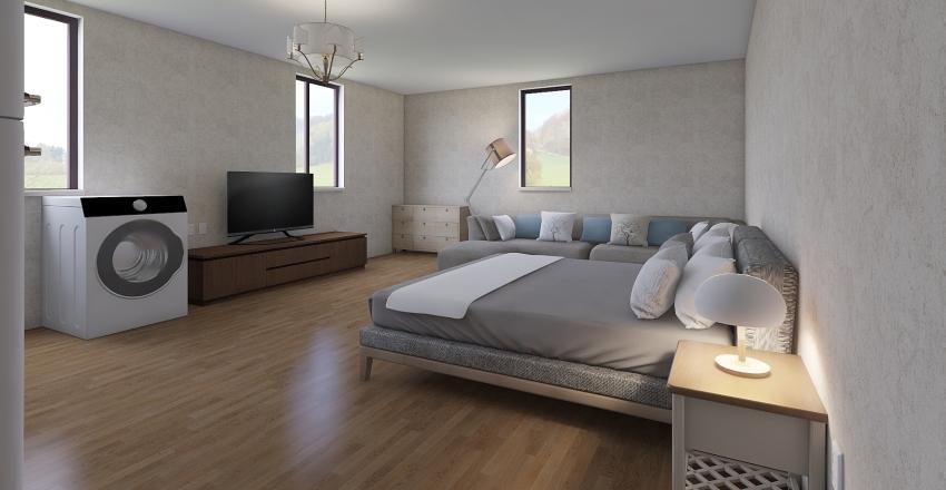 2-й эт Interior Design Render