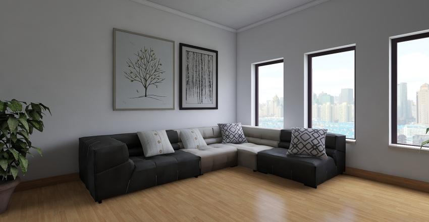 little home Interior Design Render