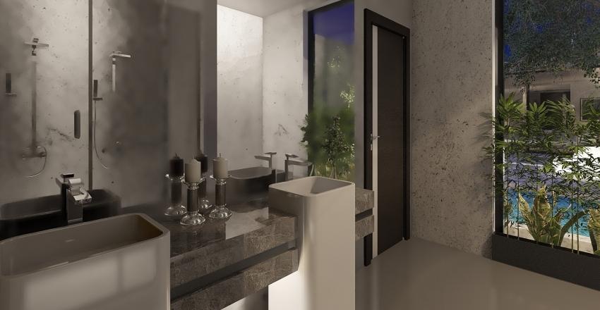 casa en ciudad Interior Design Render