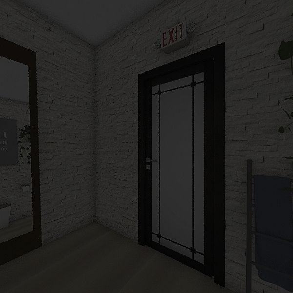 banheiro loja Interior Design Render