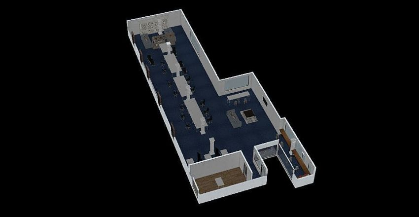 Murray Office Interior Design Render