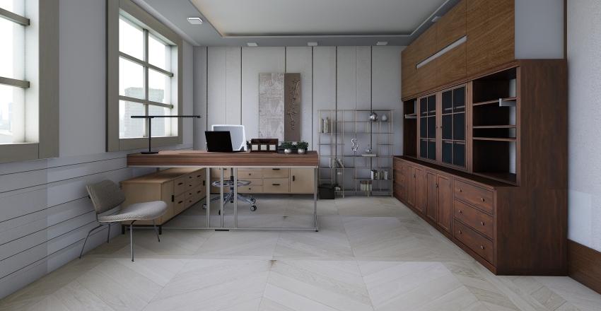 off office Interior Design Render
