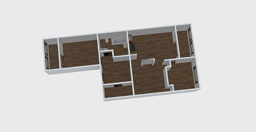2-комн_0304 Interior Design Render