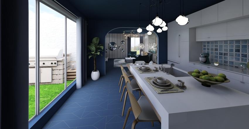 Luxury House Interior Design Render