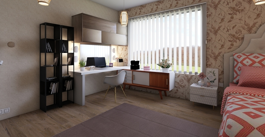 Quartinho  Interior Design Render