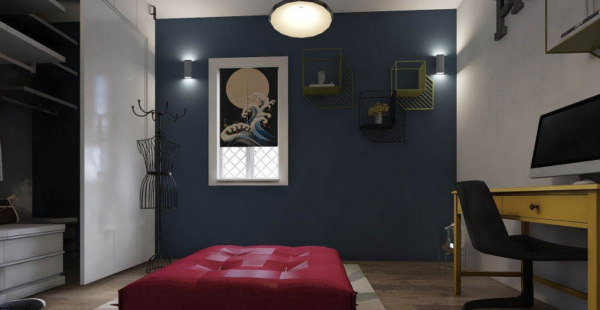 CABINA con studio Interior Design Render