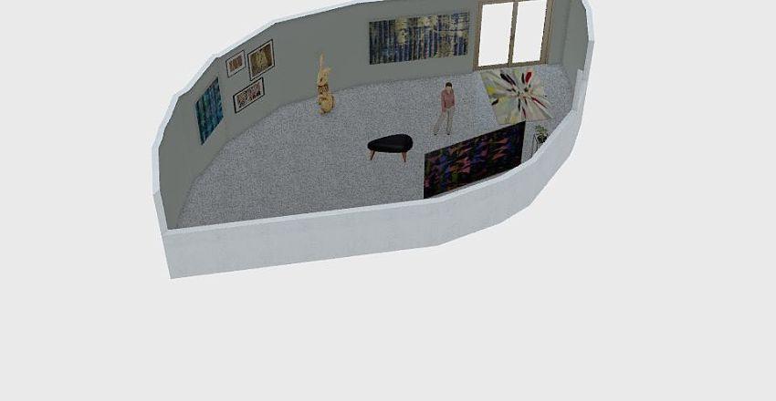 ground level memphis Interior Design Render