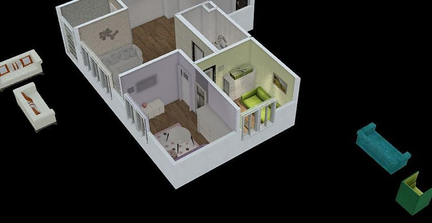 odlično  Interior Design Render