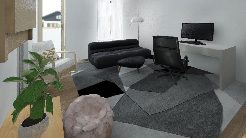 Pine village Interior Design Render