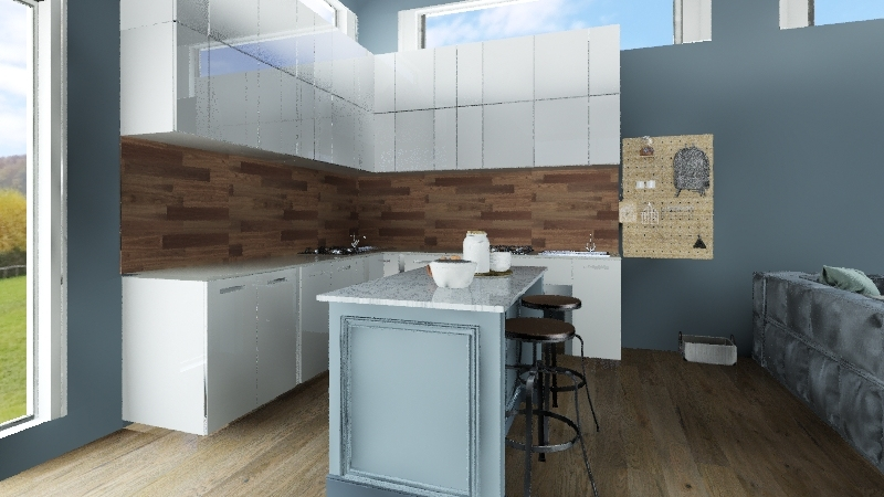 comfy & cozy Interior Design Render