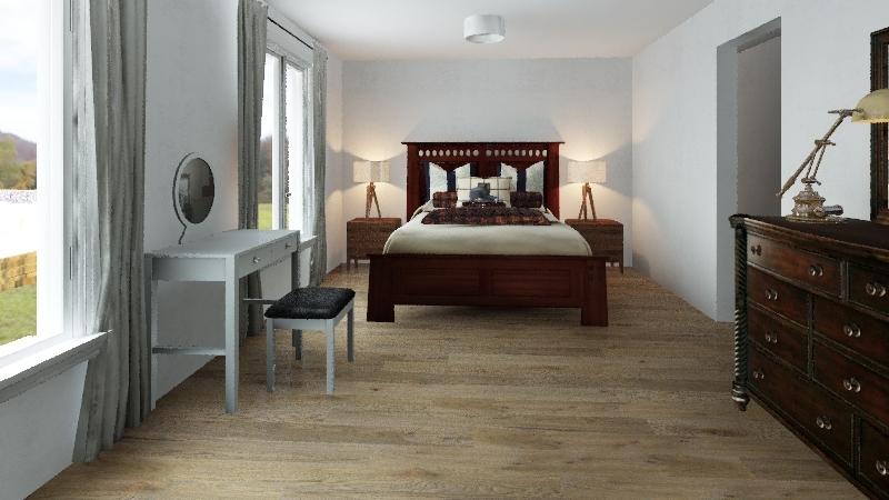 Plan-chambre-Rossignol1 Interior Design Render