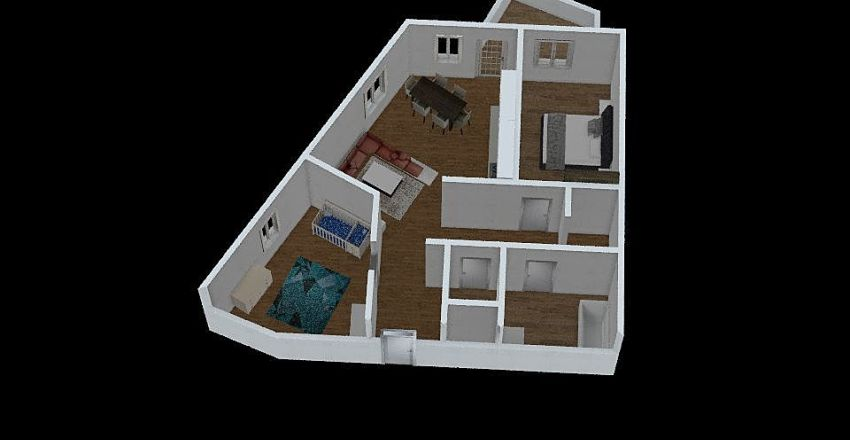 Kapellenweg Interior Design Render