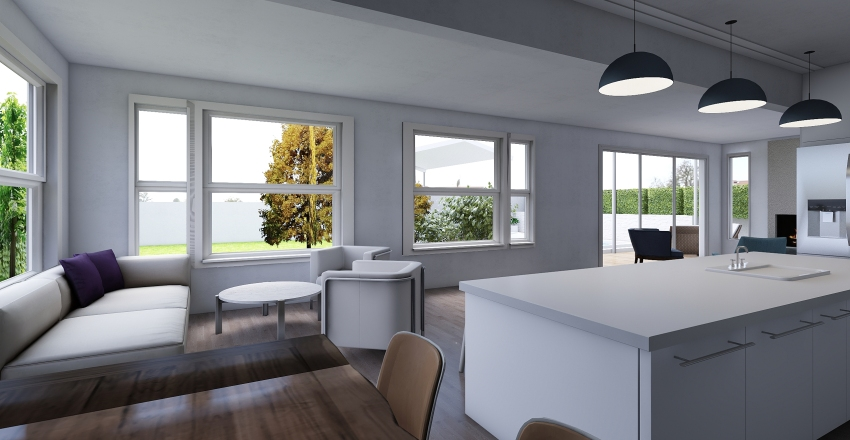 FLoor02_kitch03+withpool Interior Design Render
