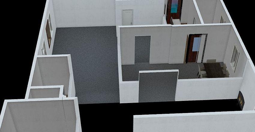 Saukville House Interior Design Render