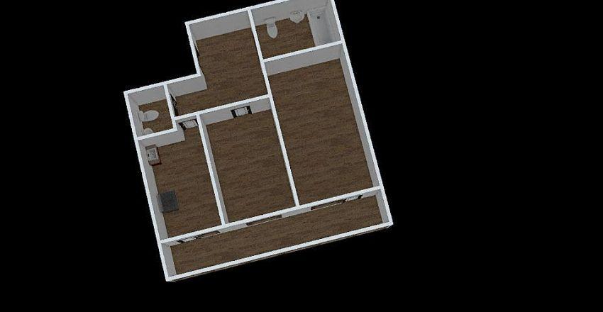 2-комн_0305 Interior Design Render