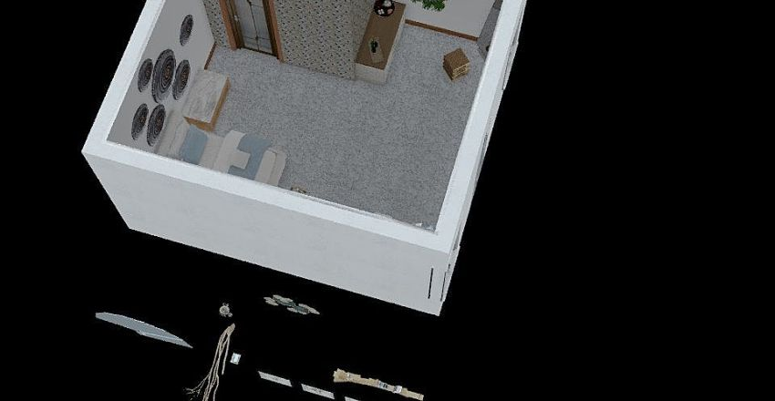 ROOM 11 & 12 Interior Design Render