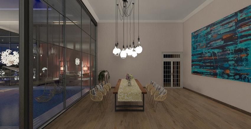 Spacious Interior Design Render
