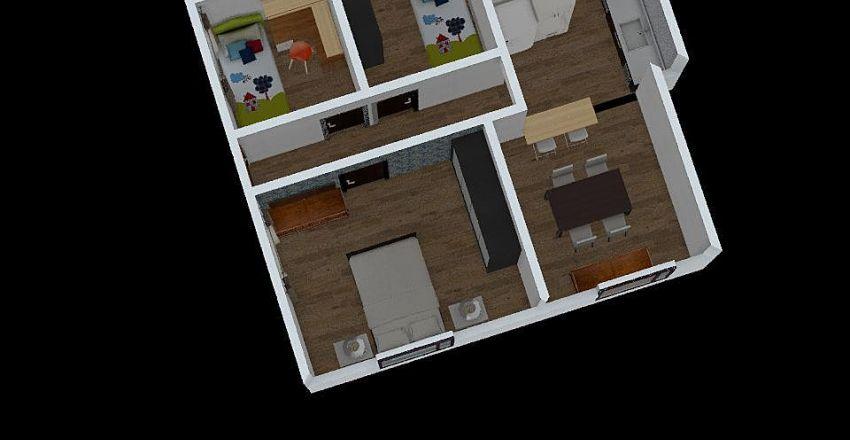 Casa Paty 5 Interior Design Render