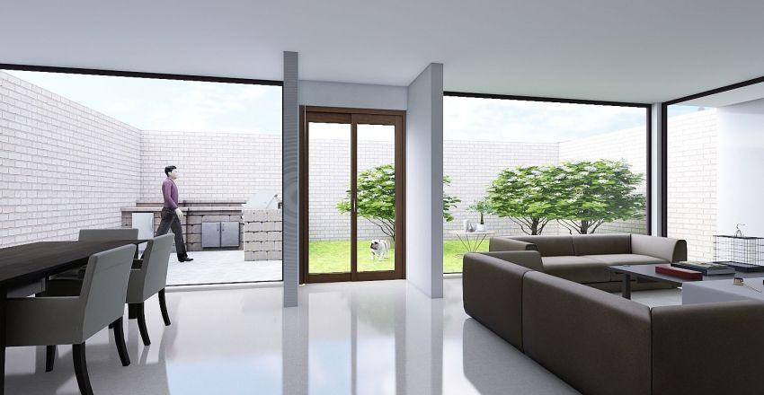 CASA HABITACION Interior Design Render