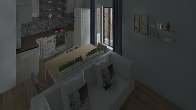 кл Interior Design Render