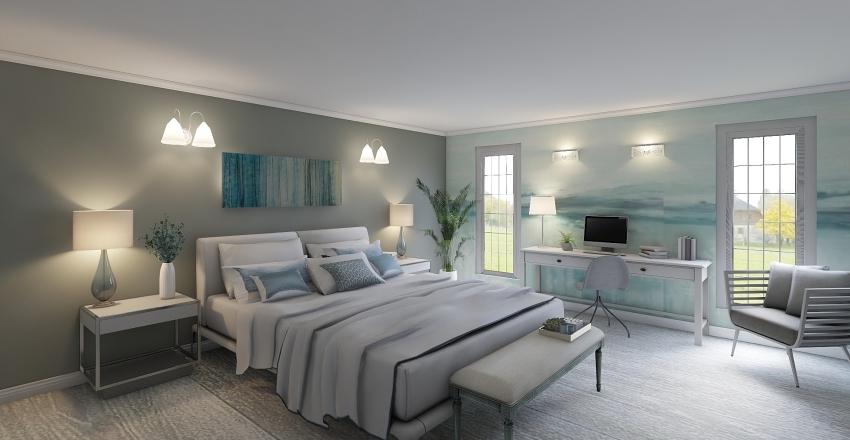 Colour me grey Interior Design Render
