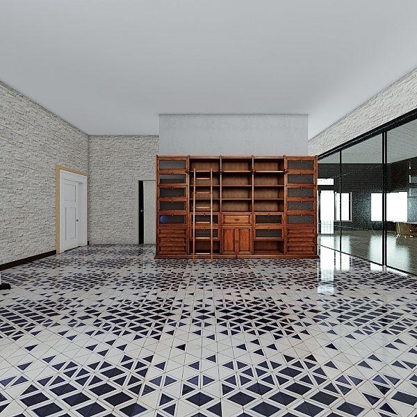 Training room Interior Design Render