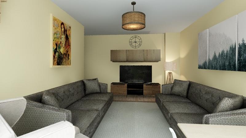 EFD Living Interior Design Render