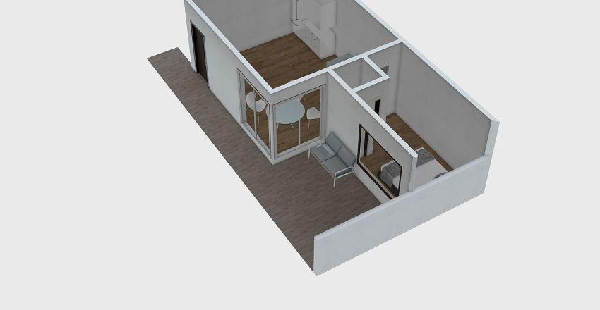 T1 Garagem Interior Design Render