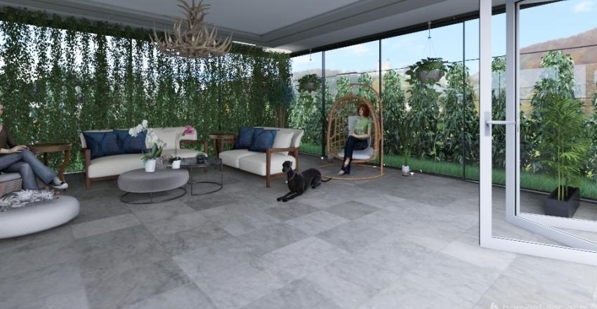 landescab gardeen Interior Design Render