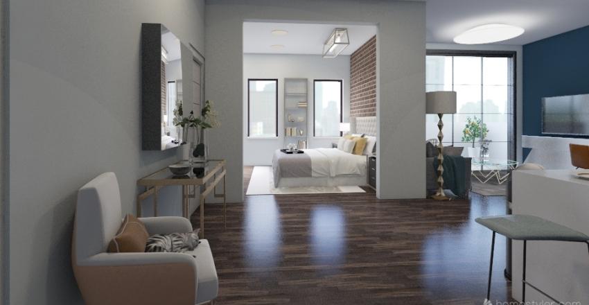 Soho Studio Interior Design Render