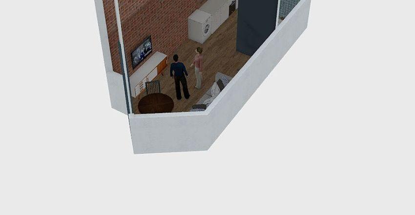 CUPE Suites Interior Design Render