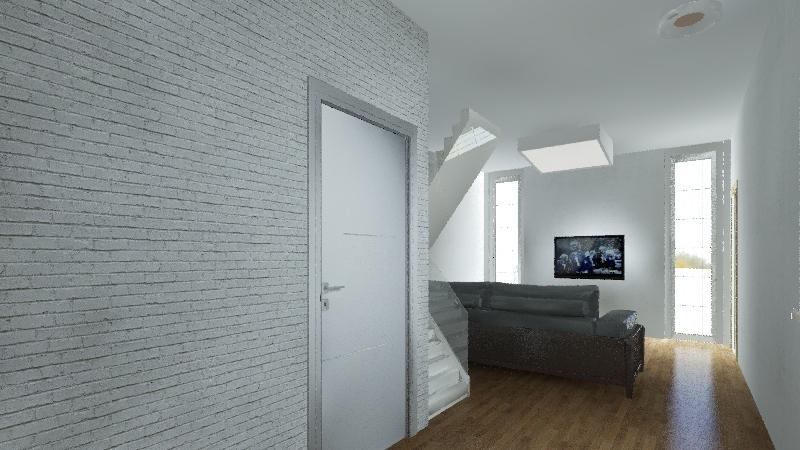 Casa pos obra Interior Design Render