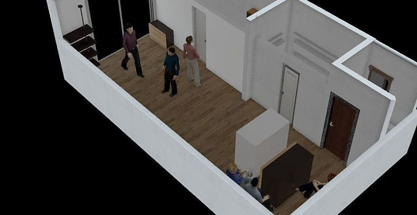 Kaypa show room Interior Design Render