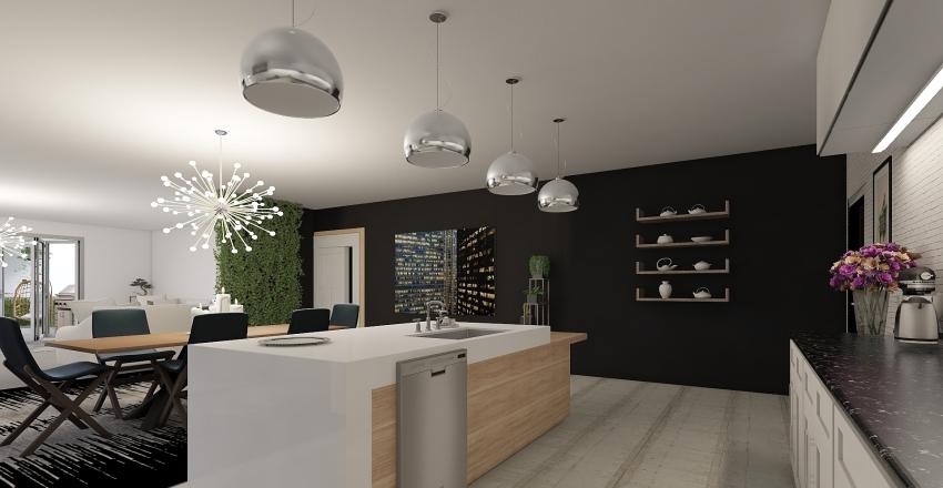 Little House Interior Design Render