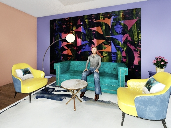 COLOR Interior Design Render