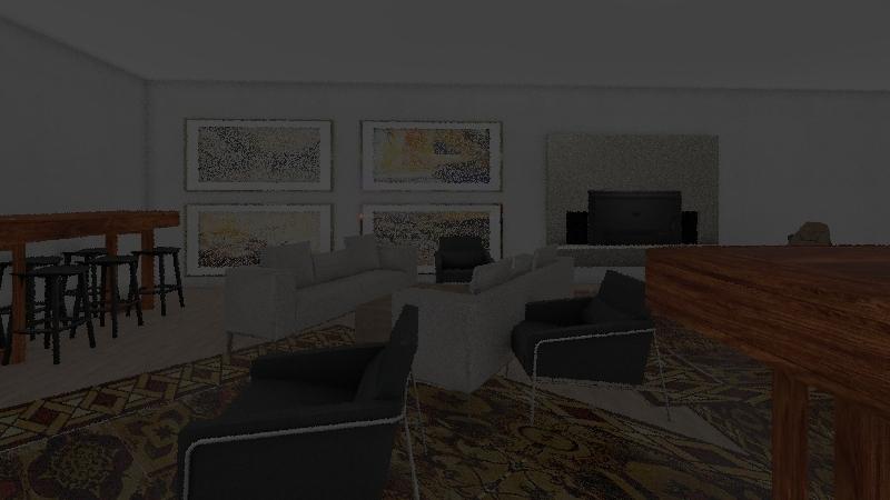 Clubhouse v. 8 Interior Design Render