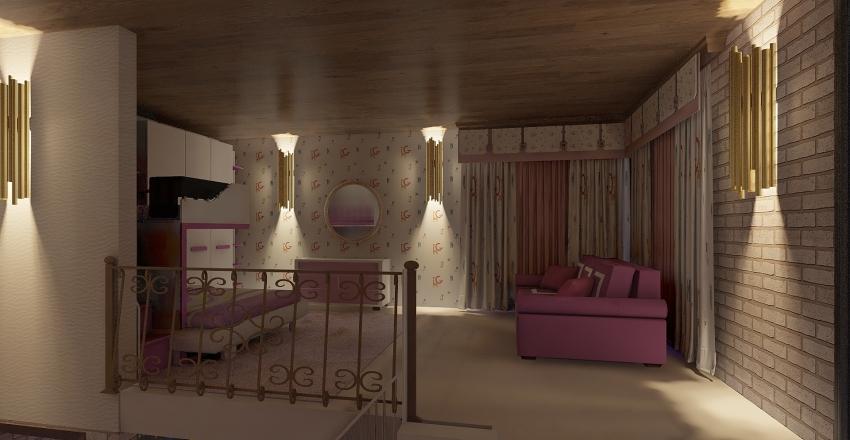 casa con soppalchi... Interior Design Render
