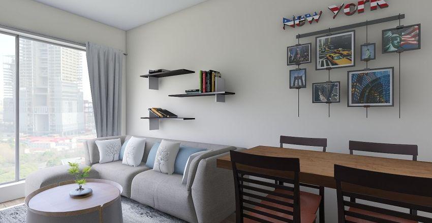 Chodkiewicza Interior Design Render