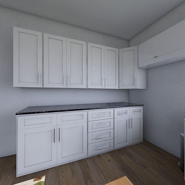 skoli kitchen Interior Design Render